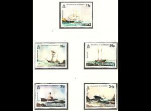 Alderney: 1987, Schiffswracks