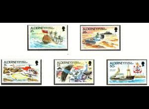 Alderney: 1991, Leuchtfeuer auf den Casquets