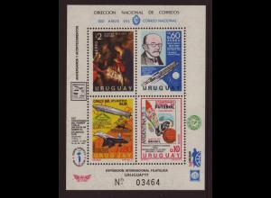 Uruguay: 1977, Blockausgabe Jahresereignisse (Einzelstück)