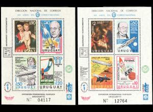 Uruguay: 1976, Blockpaar Jahresereignisse
