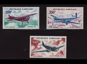 Gabun: 1967, Alte Flugzeuge