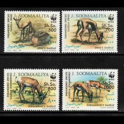 Somalia: 1992, Gazellen (nur WWF-Ausgabe aus Satz mit 12 Werten)