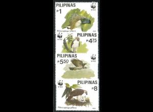 Philippinen: 1991, Affenadler (WWF-Ausgabe)