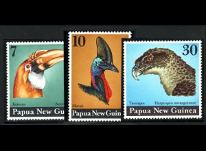 Papua Neuguinea: 1974, Vögel