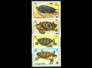 Anguilla: 1983, Schildkröten (WWF-Ausgabe)