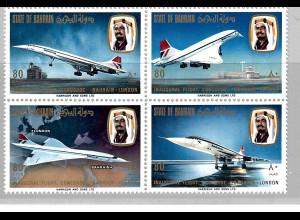 Bahrain: 1976, Viererblock Concorde