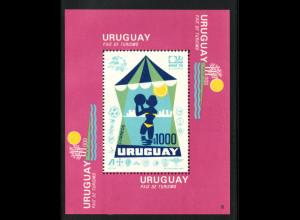 Uruguay: 1974, Blockausgabe Tourismus