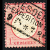 """Gr. Brustschild 1 Gr., Plattenfehler: """"N in Groschen gebrochen"""" (M€ 140,-)"""