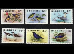 Antigua und Barbuda - Barbuda: 1976, Vögel