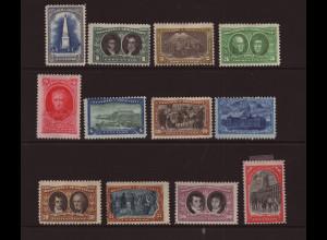 Argentinien: 1910, Jahrhundertfeier der Revolution (Kurzsatz bis 50 C.)