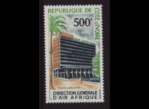 Elfenbeinküste: 1967, Freimarke Bauwerke 500 Fr.