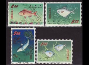 China Taiwan: 1965, Fische