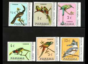 Panama: 1967, Einheimische Vögel