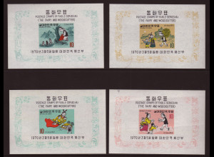 Südkorea: 1970, Blocksatz Märchen IV