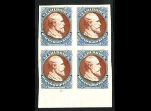 Stahldruckessay der Reichsdruckerei mit dem Motiv Heinrich von Stephan