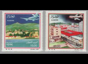 Algerien; 1991, Flugpost-Ausgabe