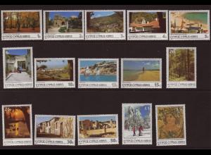 Zypern: 1985, Freimarken Tourismus