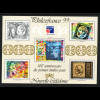 """Neu Kaledonien: 1999, Hologramm-Blockausgabe Briefmarkenausstellung """"Philexfrance"""""""