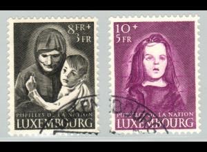 Luxemburg: 1950, Kriegswaisen (nur Endwerte)