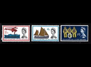 Grossbritannien: 1963, Rettungsboot-Konferenz (mit Phosphorstreifen)