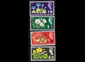 Grossbritannien: 1964, Botanischer Kongreß (mit Phosphorstreifen)