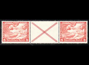 1933, Wagner: 8 + X + 8 (beide Marken sind postfrisch, über M€ 180,-)