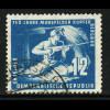DDR: 1950, Mansfelder Bergbau 12 Pfg., Plattenfehler