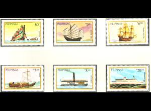 Philippinen: 1984, Schiffe