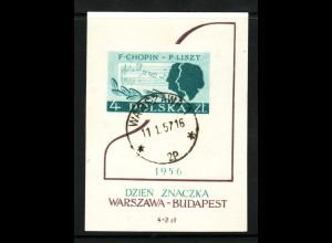 Polen: 1956, Blockausgabe Komponisten