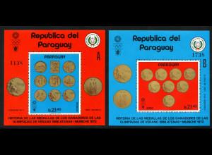 Paraguay: 1972, Blockpaar Olympiamedaillen