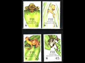 Fidschi-Inseln: 1988, Frösche (WWF-Ausgabe)