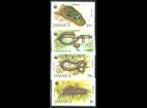 Jamaika: 1984, Schlangen (WWF-Ausgabe, M€ 70,-)