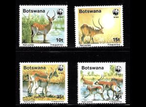Botswana: 1988, Wasserböcke (WWF-Ausgabe)