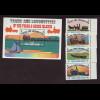 Turks- und Caicos-Inseln: 1983, Pferdebahnen und Lokomotiven (Satz und Blockausgabe)