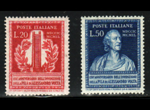 Italien: 1949, Alexander Volta (M€ 130,-)