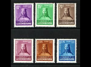 Luxemburg: 1935, Kinderhilfe (Karl I., postfrisch, M€ 150,-)