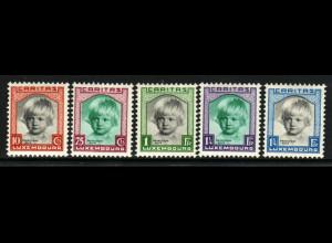Luxemburg: 1931, Kinderhilfe (Prinzessin Alix, postfrisch)