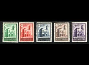 San Marino: 1932, Einweihung des neuen Postgebäudes (für ** M€ 1300,-)