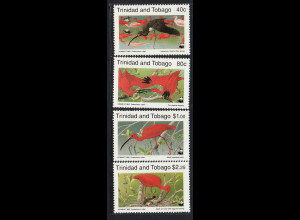 Trinidad und Tobago: 1990, Rotsichler (WWF-Ausgabe)