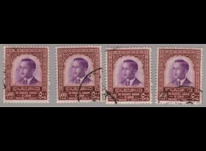 Jordanien: 1955/65, König Hussein II 500 F. (Einzelstück)