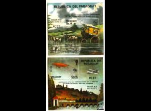 Paraguay: 1974, Blockpaar Weltpostverein UPU