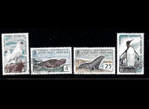 TAAF: 1960, Freimarken Tiere