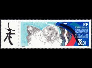 TAAF: 1995, G. Lesquin (mit Anhängsel; Motiv Robben)