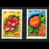 Französisch Polynesien: 1962, Freimarken Blumen