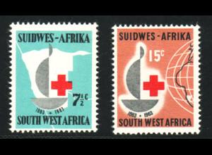 Südwestafrika: 1963, Rotes Kreuz