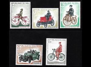 Mali: 1968, Fahrräder und Autos