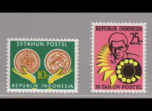 Indonesien: 1970, Postsparen und Telefon