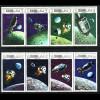 Ras Al Khaimah: 1969, Weltraumprogramme Apollo 10 und 11 (Zusammendruckstreifen)
