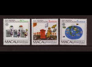 Macau: 1983, Weltkommunikationsjahr