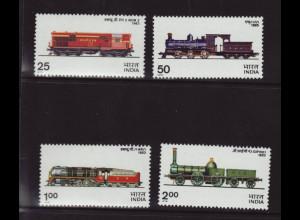 Indien: 1976, Lokomotiven